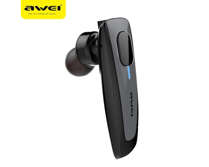 AWEI N3 Bluetooth Earphone Multipoint Ασύρματο Ακουστικό - Black