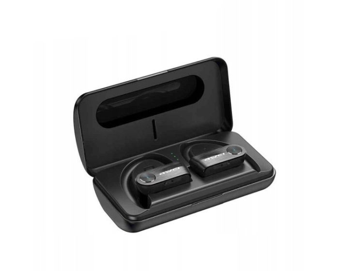 AWEI TWS T22 Wireless Bluetooth Stereo Earbuds with Charging Box - Black