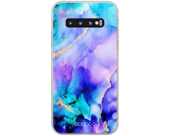 Babaco Abstract Silicone Case Θήκη Σιλικόνης 011 Multicolor (Samsung Galaxy S10 Plus)