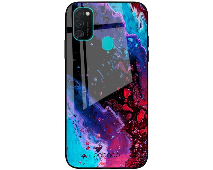 Babaco Premium Glass TPU Case Abstract 016 (Samsung Galaxy M21 / M30s)
