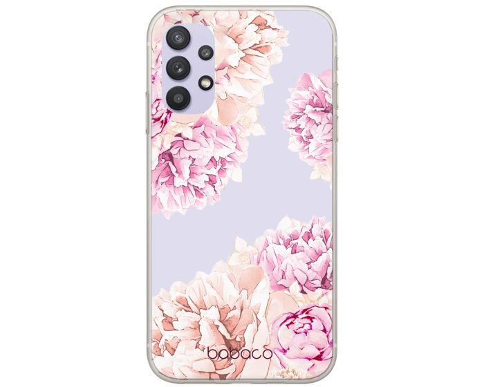 Babaco Flowers Silicone Case Θήκη Σιλικόνης 001 Transparent (Samsung Galaxy A32 4G)