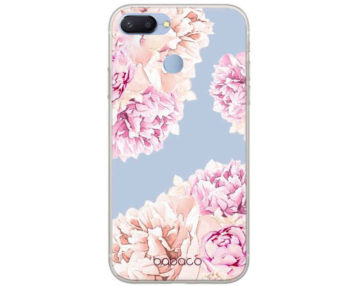 Babaco Flowers Silicone Case Θήκη Σιλικόνης 001 Transparent (Xiaomi Redmi 6)