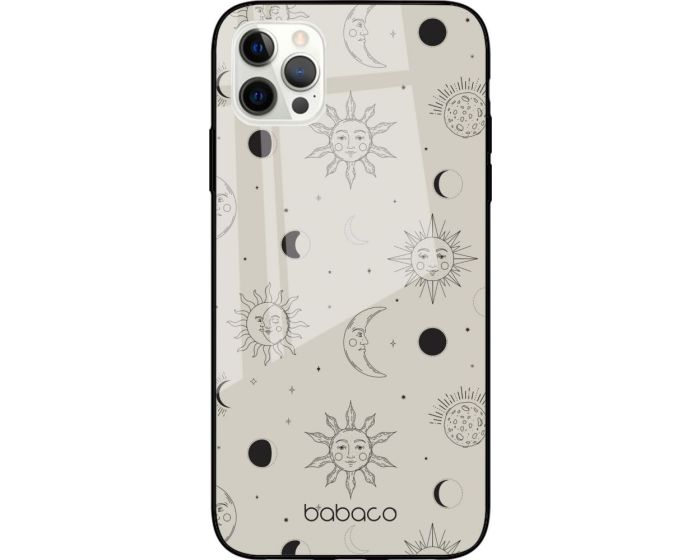 Babaco Premium Glass TPU Case Space Grey (iPhone 12 Pro Max)
