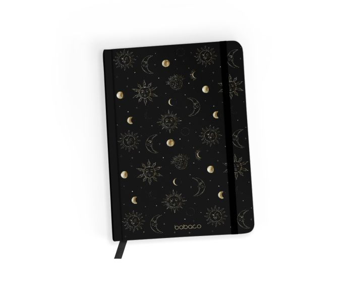 Babaco Notebook Size A5 Βιβλίο Σημειώσεων - Space 001 Black