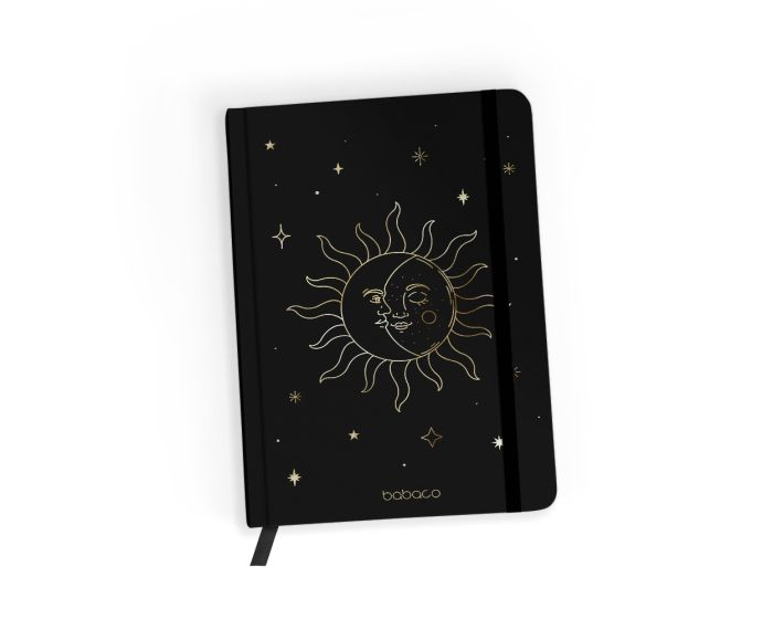 Babaco Notebook Size A5 Βιβλίο Σημειώσεων - Space 002 Black