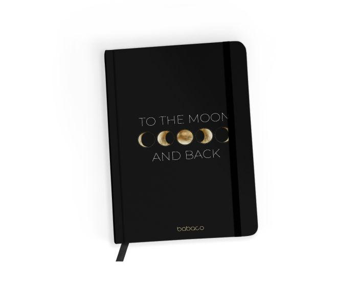 Babaco Notebook Size A5 Βιβλίο Σημειώσεων - Space 003 Black