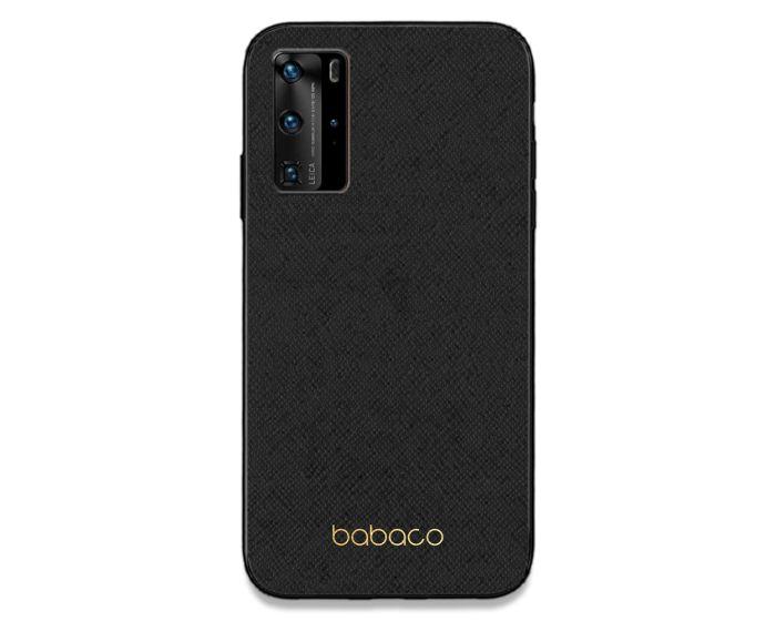 Babaco Premium PU Leather Σκληρή Θήκη Black / Gold (Huawei P40 Pro)