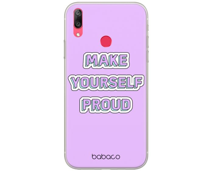 Babaco 90's Girl Silicone Case (BPCSWEET9163) Θήκη Σιλικόνης 010 Violet (Huawei P Smart 2019 / Honor 10 Lite)