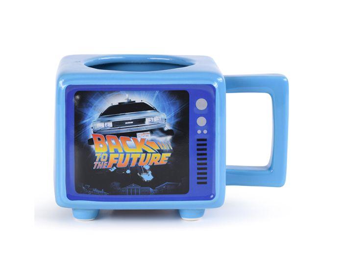 Back To The Future (Flux Capacitor) Heat Changing Mug 500ml Κούπα με Ζεστό - Κρύο Σχέδιο