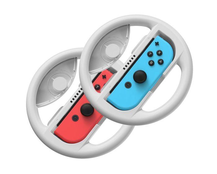 Baseus 2x Car Wheel Handles για Nintendo Switch (GMSWB-0G) Gray