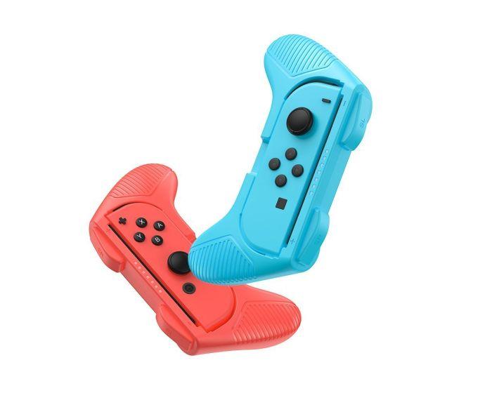 Baseus 2x Joypad Handles για Nintendo Switch (GMSWC-93) Red / Blue