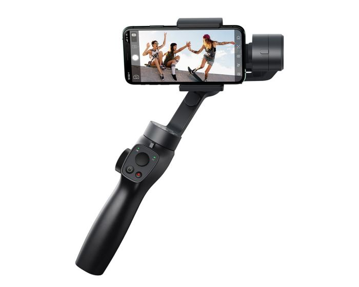 Baseus 3-Axis Smartphone Handheld Gimbal Stabilizer for Photos and Video Recording iOS Android Compatible (SUYT-0G) Βάση Gimbal Σταθεροποίησης - Gray