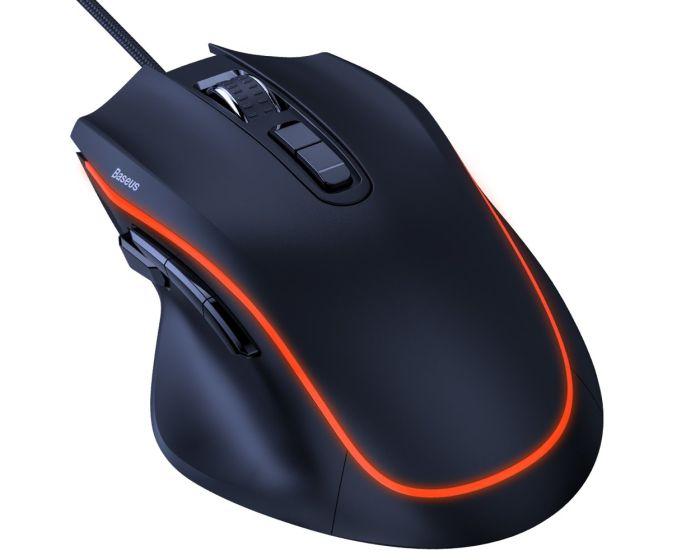 Baseus Gamo 9 Programmable Buttons Gaming Mouse (GMGM01-01) Gaming Ποντίκι - Black