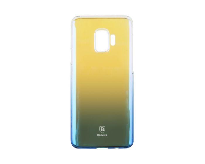 Baseus Glaze Bi-Color Hard PC Case Σκληρή Ημιδιάφανη Θήκη Blue (Samsung Galaxy S9)