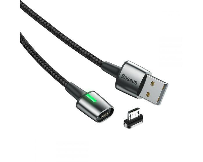 Baseus Micro Usb Magnetic Cable 2.4A 100cm - Black