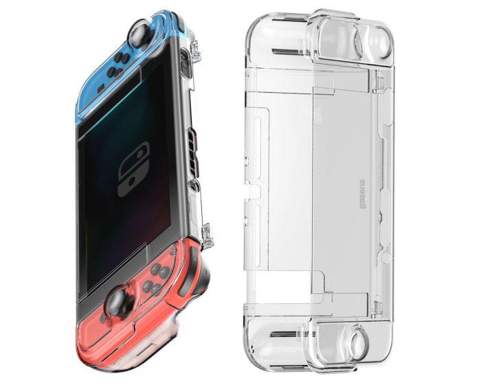 Baseus Shock Resistant Hard Case για Nintendo Switch (WISWGS06-02) Clear