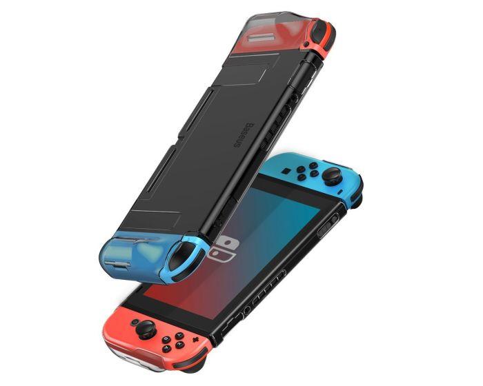 Baseus Shock Resistant Hard Case για Nintendo Switch (WISWGS07-01) Black