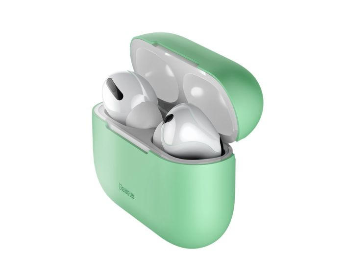Baseus Ultrathin Silica Gel Airpods Pro Case (WIAPPOD-ABZ06) Green