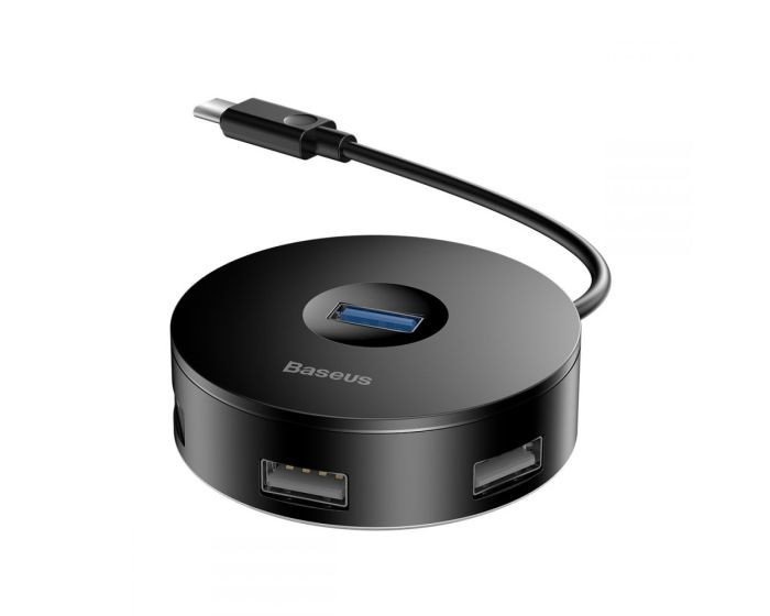 Baseus USB Hub G01 Type C to 3xUSB 2.0 / 1xUSB 3.0 (CAHUB-G01) Black