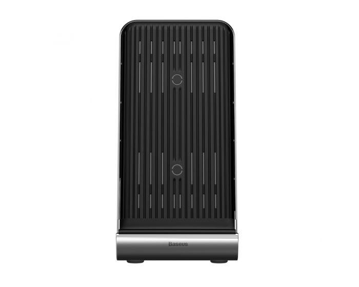Baseus Vertical Desktop Qi 10W Wireless Charger Pad & Dock Station (WXLS-01) Ασύρματος Φορτιστής