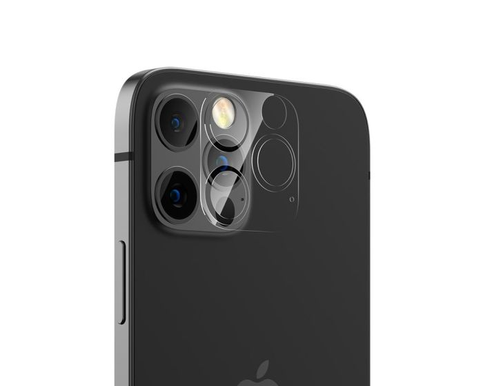 Benks KR Camera Lens 0.15mm Tempered Glass Prοtector 2-Pack (iPhone 12 Pro Max)
