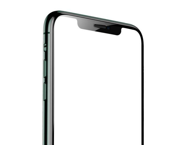 Benks V-Pro 3D Full Face Αντιχαρακτικό Γυαλί 9H Tempered Glass Μαύρο (iPhone 12 Mini)