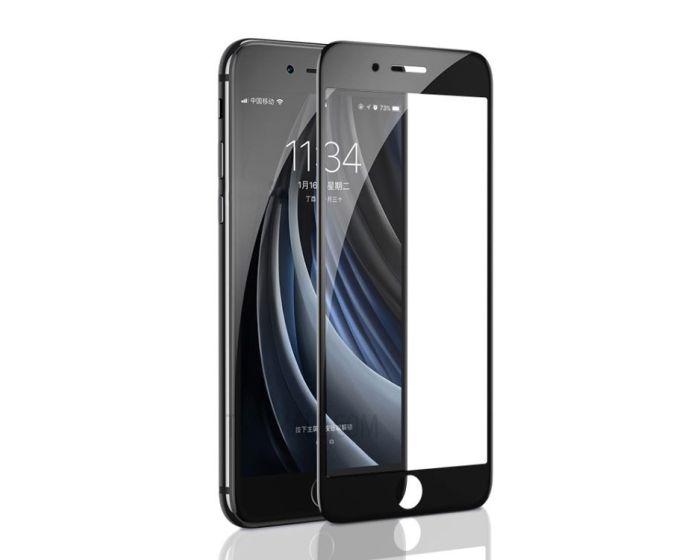 Benks V-Pro 3D Full Face Αντιχαρακτικό Γυαλί 9H Tempered Glass Μαύρο (iPhone 7 / 8 / SE 2020)