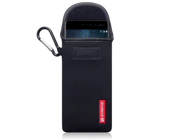 Shocksock Θήκη - Πουγκί Pull up Case (121-001-004) Μαύρο (Nokia 6)