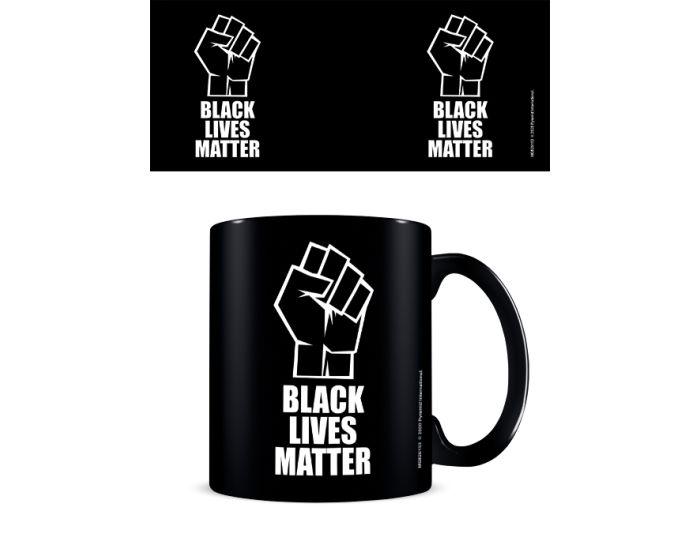 Black Lives Matter (Fist) Mug 315ml Κεραμική Κούπα - Black