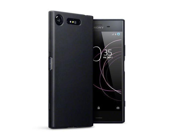 Terrapin Θήκη Σιλικόνης Slim Fit Silicone Case (118-005-396) Black Matte (Sony Xperia XZ1)