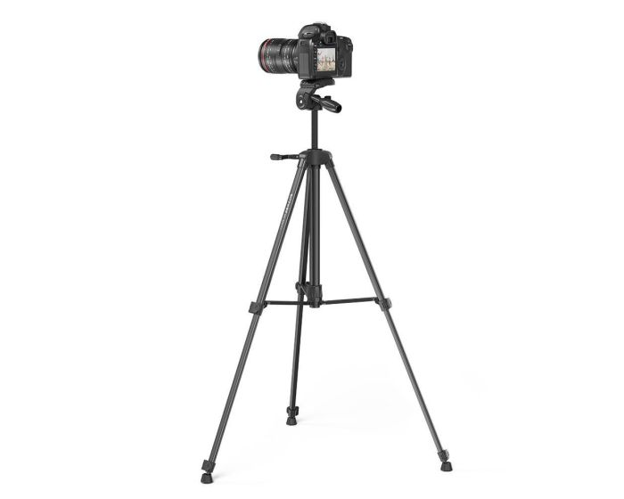 BlitzWolf BW-BS0 Pro Tripod for Cameras and Smartphones Τρίποδο - Black