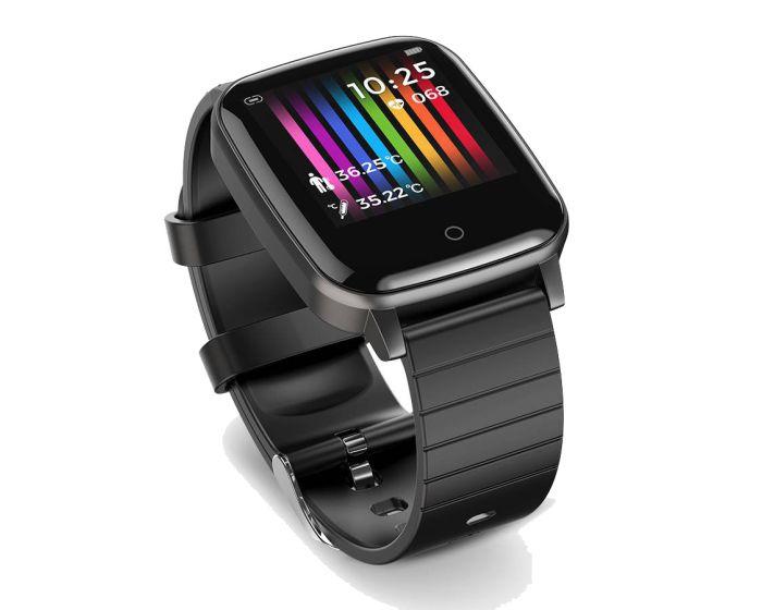 Blitzwolf BW-HL1T Thermometer Smartwatch / Activity Tracker - Black