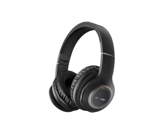 BlitzWolf BW-HP0 Wireless Bluetooth Headphones Ασύρματα Ακουστικά - Black