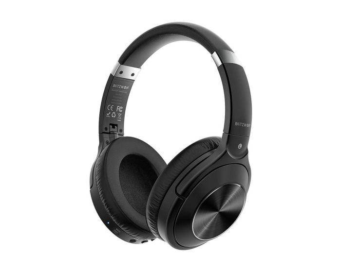 BlitzWolf BW-HP3 Wireless Bluetooth Headphones Ασύρματα Ακουστικά - Black