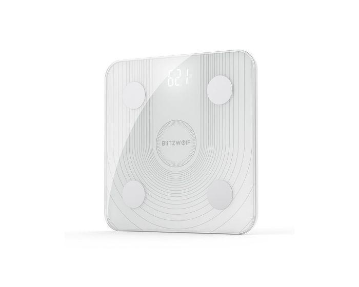 BlitzWolf BW-SC1 Smart Body Fat Scale Ζυγαριά - White