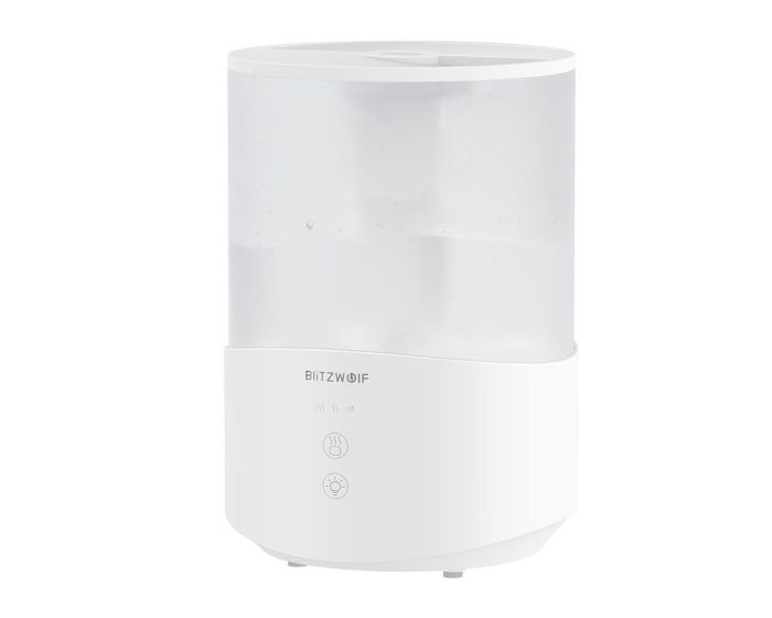 Blitzwolf BW-SH1 RGB Humidifier Diffuser 2.5L Υγραντήρας - White