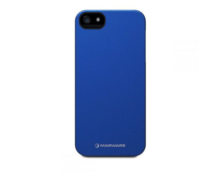 Marware MicroShell Case Blue + Screen Protector (iPhone 5 / 5s / SE)