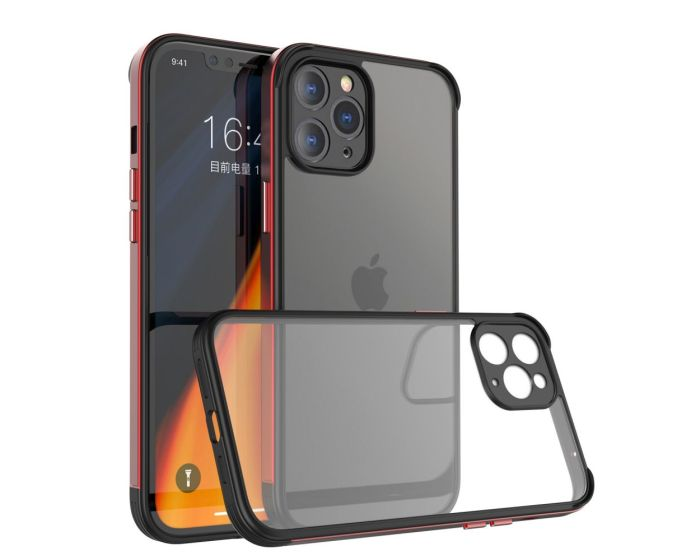 Bodycell Back Cover Aluminium Bumper Case Red (iPhone 11 Pro Max)