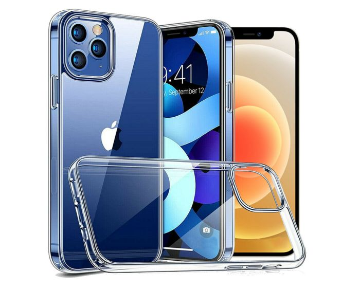 Bodycell Silicone Case Θήκη Σιλικόνης Clear (iPhone 12 Pro Max)