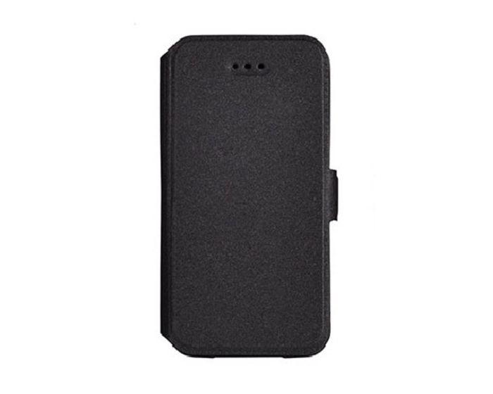 Tel1 Book Pocket Stand Case Θήκη Πορτοφόλι Μαύρο (Sony Xperia Z5 Compact)