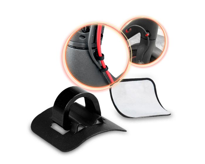 Cable Holder for Xiaomi Electric Scooter M365 - Διοργανωτής Καλωδίων - Black