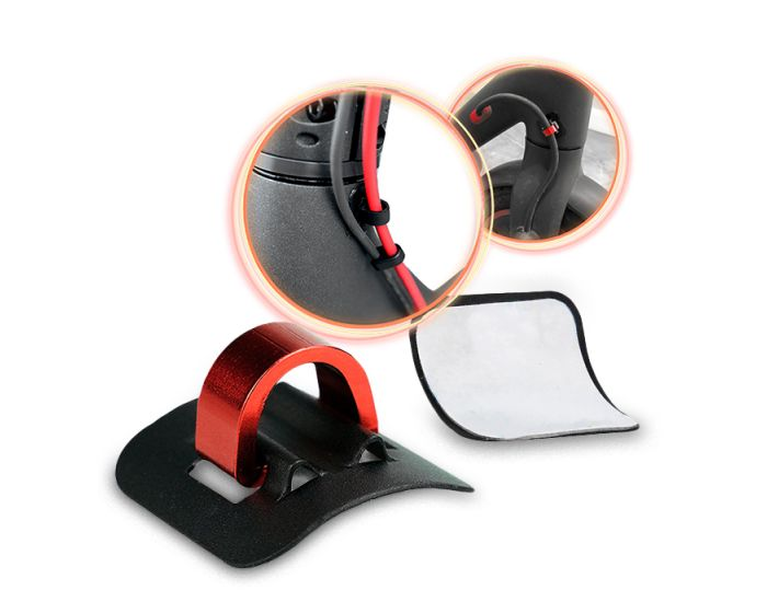 Cable Holder for Xiaomi Electric Scooter M365 - Διοργανωτής Καλωδίων - Red