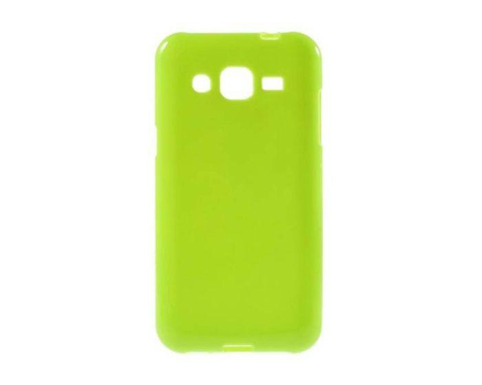 Candy Gel Slim Fit Θήκη Σιλικόνης Lime (Samsung Galaxy J2)