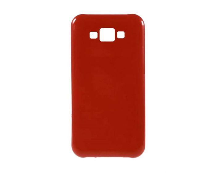Candy Gel Slim Fit Θήκη Σιλικόνης Red (Samsung Galaxy A8)