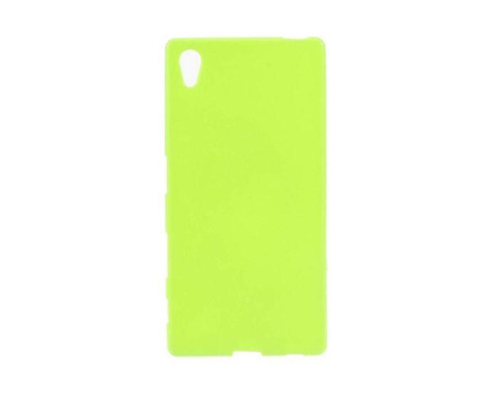 Candy Gel Slim Fit Θήκη Σιλικόνης Lime (Sony Xperia Z5 Premium)