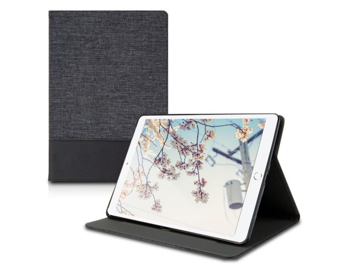 KWmobile Canvas Slim Case Stand (48343.01) Anthracite Black (iPad Air 3 2019)
