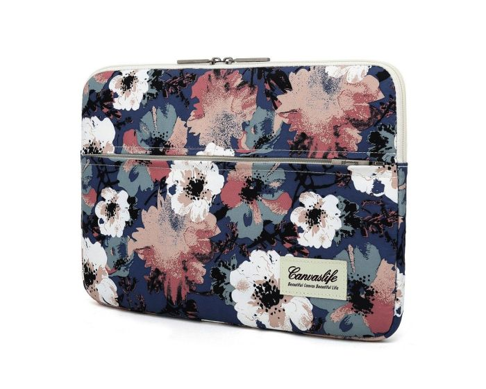 Canvaslife Sleeve Θήκη Τσάντα για Macbook / Laptop 13'' - 14'' Blue Camellia