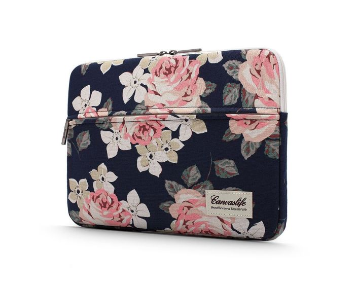 Canvaslife Sleeve Θήκη Τσάντα για MacBook / Laptop 13'' - 14'' Navy Rose