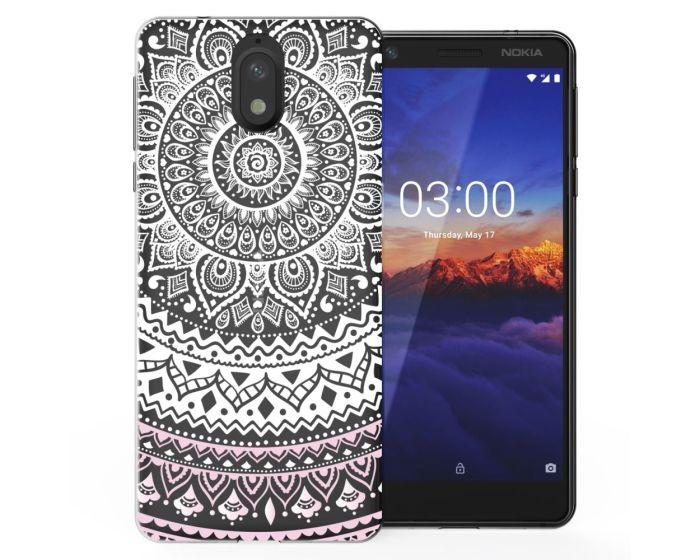 Caseflex Slim Fit Gel Case Mandala (CUV-N31-Z345) Θήκη Σιλικόνης Pink (Nokia 3.1 2018)