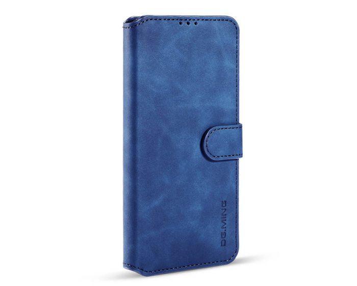 CaseMe Magnetic 2 in 1 Wallet Case Θήκη Πορτοφόλι με Stand - Blue (Samsung Galaxy A12)